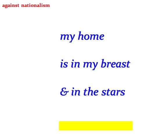 my home is in my breast